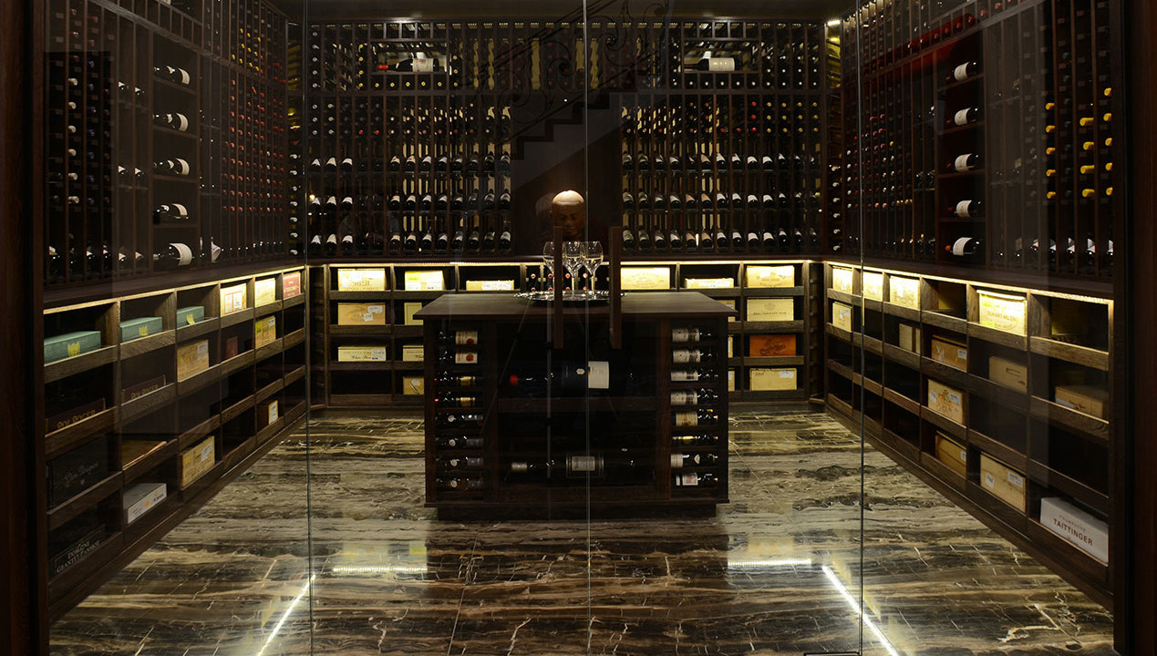 Wine Cellar Pictures Wine Cellar Made With Wenge And Acrylic