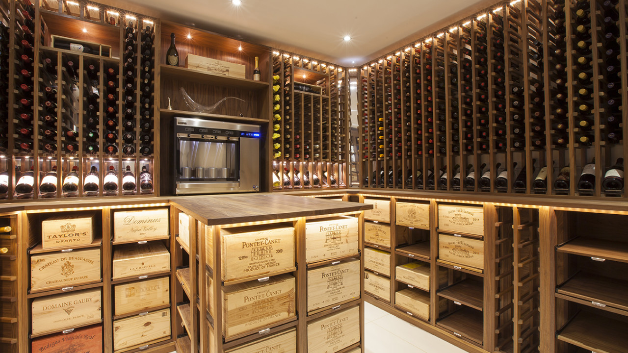 Turn closet into wine cellar smart idea basement crawl for Turn closet into wine cellar